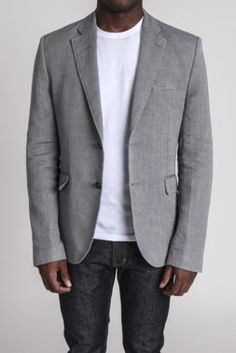 Firenza Blazer - Slate and Stone - Coats + Jackets : JackThreads