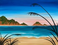 Peaceful Beach Paint And Sip, Peace, Paintings, Studio, Paint, Painting Art, Painting, Draw, Sobriety