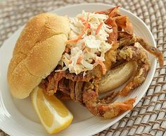 Fried Soft Shell Crab Recipe - http://healthyrecipesideas.com/fried-soft-shell-crab-recipe/