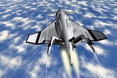 SXT-A, Iron Speed, future Aircraft, Space Tourism, Oscar Vinals, futuristic vehicle, Space XL Transporter, space travel