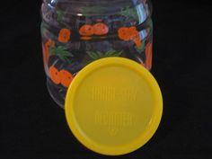 Federal Glass Handi Serve Orange Pattern Juice by DaisysAttic, $5.00