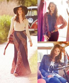 Woodstock inspired patterns for fall.