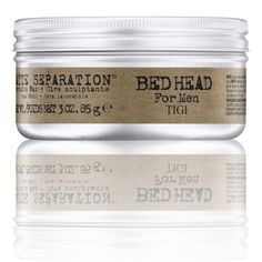 Buy TIGI Bed Head for Men Matte Separation Workable Wax 83g and other TIGI mens styling products and receive FREE shipping worldwide at TreatYourSkin.com