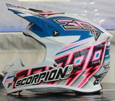 Capacete Scorpion VX20 de Greg Aranda