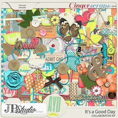 It's a Good Day Collab by JB Studio and Amanda Yi Designs