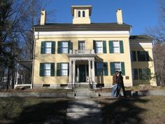 Emily Dickinson's home in Amherst, MA