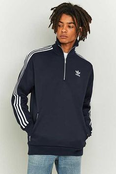 adidas Legend Ink 1/4 Zip Track Top
