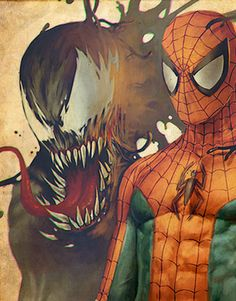 To all Marvel fans out there, here is a list of concept artworks of one of the most popular superhero character in comics, animated series and movies - the Marvel Comics Superheroes, Marvel Art, Marvel Heroes, Marvel Characters, Anime Comics, Spiderman Art, Amazing Spiderman, Starwars, Marvel Venom