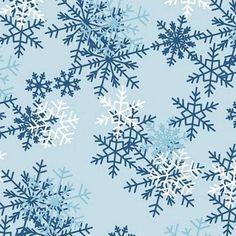 Blizzard Snow Light  Blue Fleece
