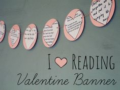 A simple Valentine's Day book craft. Home Literacy Blueprint