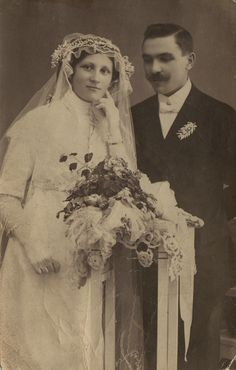 Edwardian wedding.