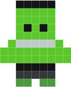 Stickaz - Hulk pixel art