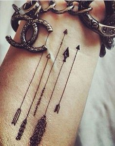 Find your perfect arrow tattoo