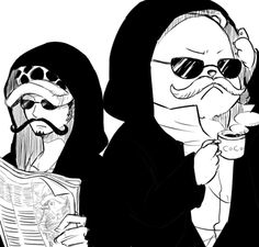 Disguises - Trafalgar D. Water Law and Bepo One piece