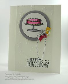 Big Day Birthday Card by dostamping - Cards and Paper Crafts at Splitcoaststampers