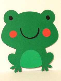 Little Frog Invitation by PerfectLilParty on Etsy