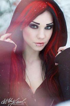 Beautiful goth