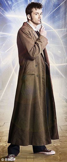 Doctor Who; David Tennant, pictured as The Doctor in a publicity image for the BBC science fiction show