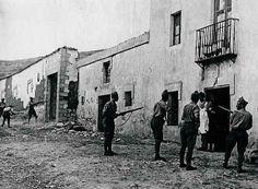 1936, Irún. Ejecuciones a domicilio por las tropas golpistas.