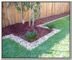 home and garden river rock garden ideas - Google Search
