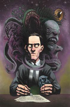 Misadventures in the Cthulhu Mythos Cthulhu Art, Call Of Cthulhu Rpg, Lovecraft Cthulhu, Hp Lovecraft, Arte Horror, Horror Art, Lovecraftian Horror, Eldritch Horror, Dark Drawings