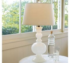 Gemma Milk-Glass Table Lamp