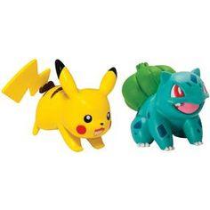 [Pokemon: Action Pose Figures: Pikachu Vs Bulbasaur (Product Image)]