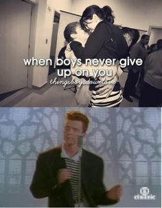 When boys never give up