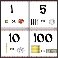 help students recognize the correlation between place value, tally marks, and coins
