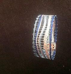 Lace Bracelet, Bracelets, Bobbin Lace Patterns, Lace Jewelry, Lace Making, Tatting, Engagement Rings, Crystals, Diamond