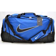 5760e7fe5a Juli s new gym bag!  ) Nike Brasilia 5 Blue and Black Large Duffel Bag