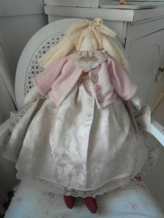 Rose - handmade large rag doll