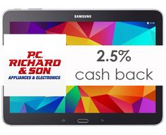 P.C. Richard & Son | Get up to 2.5% cash back from P.C. Richard & Son for college/university students