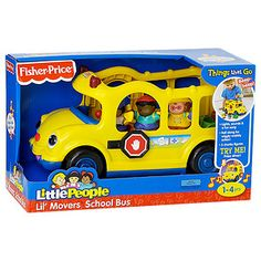 Little People Lil' Movers Vehicle School Bus