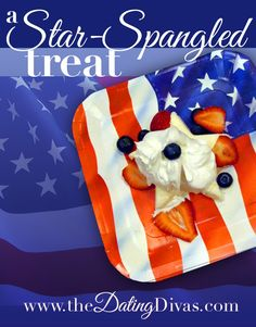 Cream Cheese Star-spangled Treat~This is the PERFECT treat for a Summer evening on the of July! Creative Date Night Ideas, Date Night Ideas For Married Couples, 4th Of July Desserts, Diy Shops, Let Freedom Ring, Dating Divas, Patriotic Party, Holiday Fun, Holiday Ideas