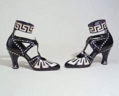 Shoes, Hellstern and Sons designer, French, 1919-1920