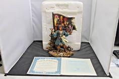 Disney Jack Sparrow King Of Thieves The Bradford Exchange Figurine A0196 W/COA #BradfordExchange