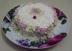 bolo de 1 mês de Ana Vitória