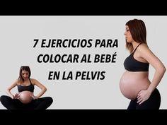 EJERCICIOS PARA ENCAJAR LA CABEZA DE TU BEBE EN LA PELVIS - YouTube Prenatal Workout, Prenatal Yoga, Pregnancy Workout, Pregnancy Tips, Pregnancy Fitness, Mommy Workout, First Baby, Mom And Baby, Get Baby