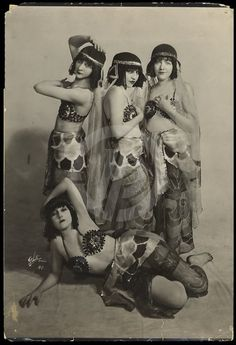 "Ziegfeld Girls in ""Aphrodite"""