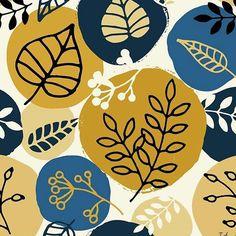 ivet.angelova -  40/100 Another autumn pattern for this month's #printedvillage design challenge.  #abstractart #seamlesspattern #surfacepatterndesign #surfacepattern #printandpattern #pattern #patterndesign #nature #natureinspired #leaves #shapes #vectorart #repeatpattern #licensing #vector #designspiration #surfacespatterns #autumn #textiledesign #patternobserver #thepatterncurator #digitalcollage #gotpattern