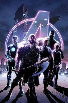 The Avengers # 35 Marvel Now! Vol 5 Ms Marvel, Marvel Comics, Marvel Comic Books, Marvel Heroes, Marvel Characters, Comic Books Art, Comic Art, Captain Marvel, Book Art