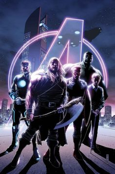 #Avengers #Fan #Art. (Avengers #35. TIme runs out!) By: Jim Cheung. (THE * 5 * STÅR * ÅWARD * OF: * AW YEAH, IT'S MAJOR ÅWESOMENESS!!!™) ÅÅÅ+