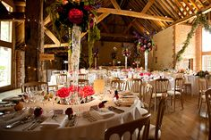 Barn Wedding Receptions | Barn at Bury Court Wedding Photographer, Farnham Surrey » Surrey ...