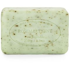 PRE de PROVENCE Rosemary Mint Pure Vegetable Soap (€5,99) ❤ liked on Polyvore featuring beauty products, bath & body products, body cleansers, fillers, beauty and soap
