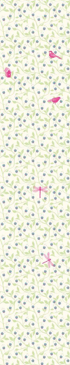 Decor :: Room :: Wallpaper :: Flowers Wallpaper Mural