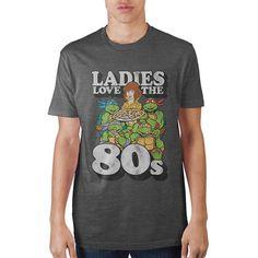 Vintage TMNT Ladies Love The 80s Tee