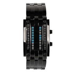 Beauty7 Modeschmuck Herren Sportlich Digital LED Uhren Armbanduhren Wrist Watches(Schwarz) - http://uhr.haus/beauty7/beauty7-modeschmuck-herren-sportlich-digital-2