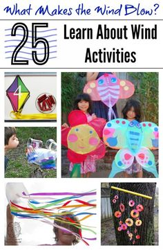 What Makes the Wind Blow 25 Learn About Wind Activities (art, crafts, science, books, printables and more!) from Left Brain Craft Brain