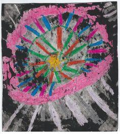 """""""Circle Art"""" by Matthew (age 6)"""